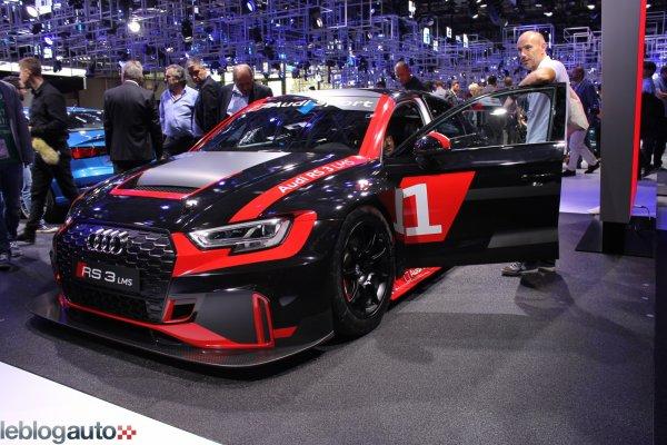 Paris 2016 : Audi RS3 LMS