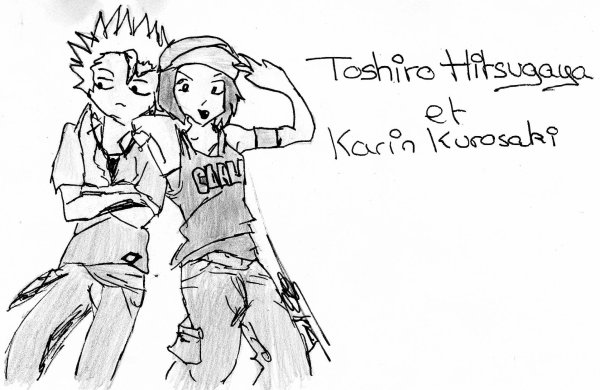 Mes dessins de Toshiro-chan