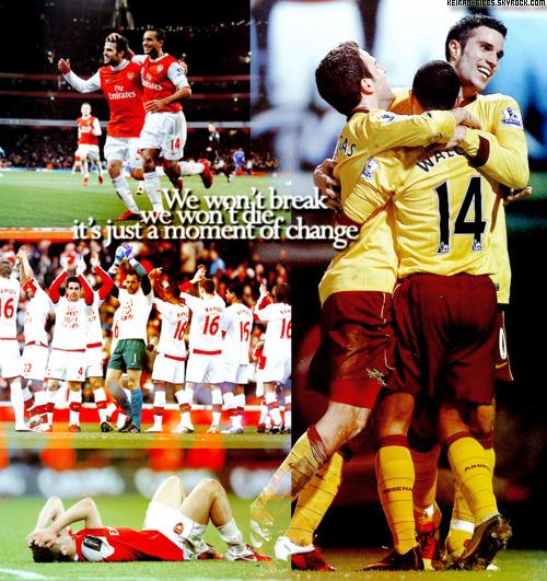 _# Arsenal , bien + qu'une équipe .