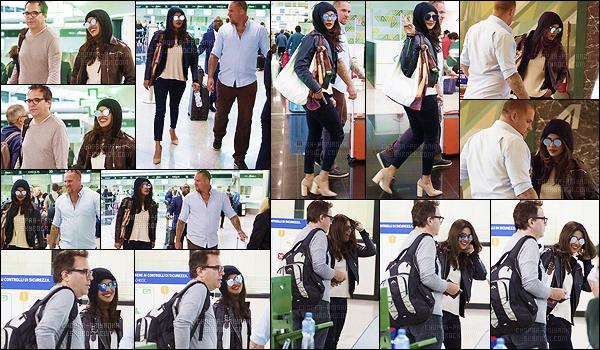 12 octobre 2017 : Priyanka, toujours le sourire aux lèvres, a été vue à l'aéroport de Fiumicino pour rentrer à Los Angeles. Les quelques jours passés dans ce beau pays sont terminés et le tournage reprendra donc sûrement aux Etats-Unis. Hâte d'en savoir plus sur la S3.