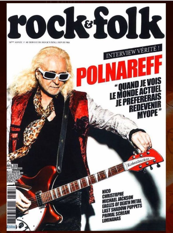 - Rock et Folk Avril 2016 50ème année-