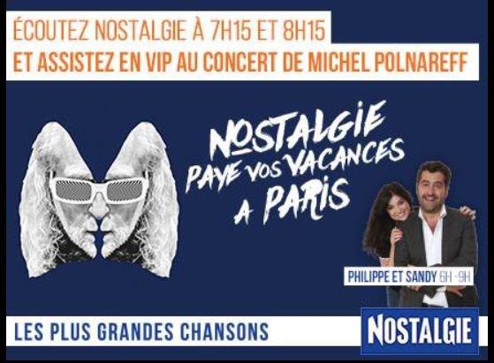 NOSTALGIE PAYE VOS VACANCES A PARIS