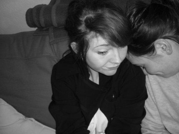 C'est comme si quand on est ensemble, nous n'étions plus qu'une seule personne.