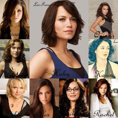 Personnages principaux féminin