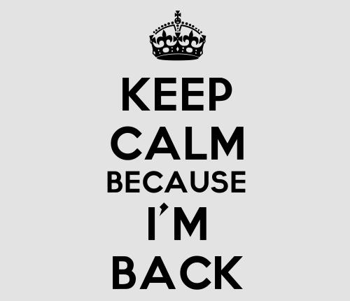 Le véritable retour!!!