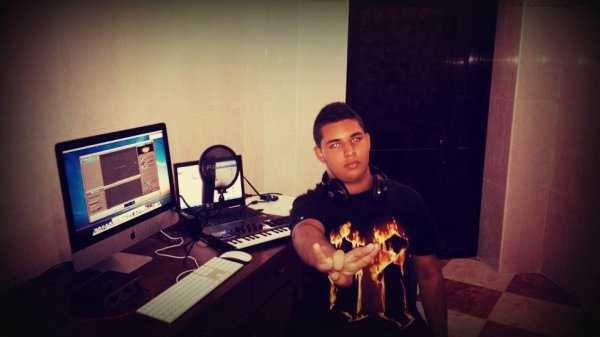 In My Home Recording Studio