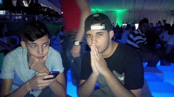 Avec mon cousin