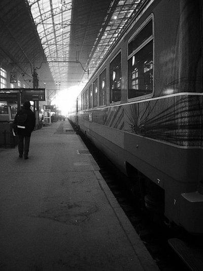 La gare ...
