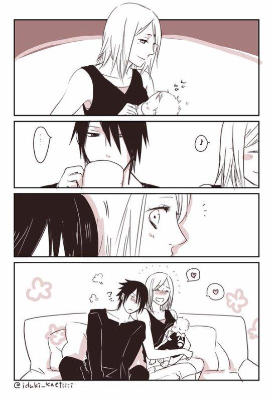Sasuke trop mignon