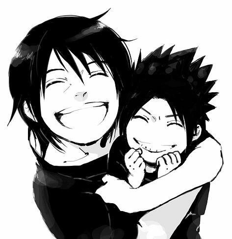 Sasuke et ITACHI petit trop chou
