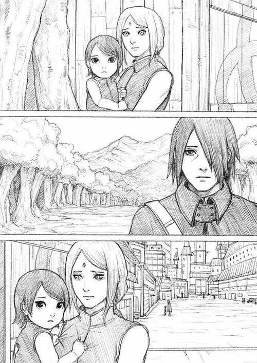 Doujinshi touchant et triste