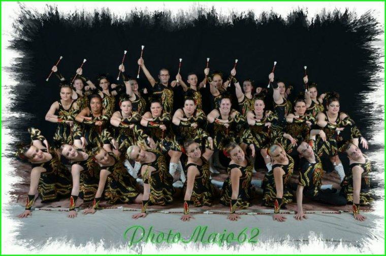 Ce dimanche 1er Juin 2014 direction le Festival des Majorettes de COUDEKERQUE-BRANCHE !
