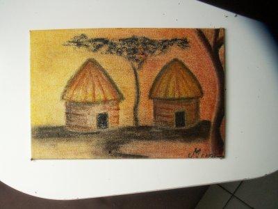 L'afrique débarque dans nos maisons: cahute