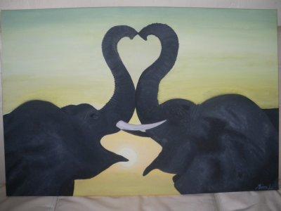 Eléphants coeur : commande terminée !!!