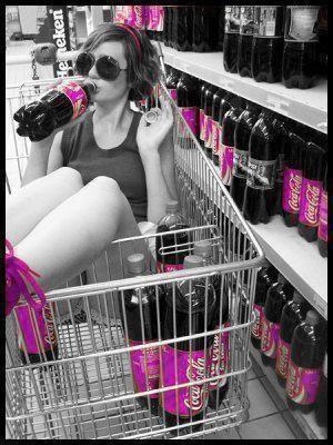 pour les fans de coca cola (^_^)
