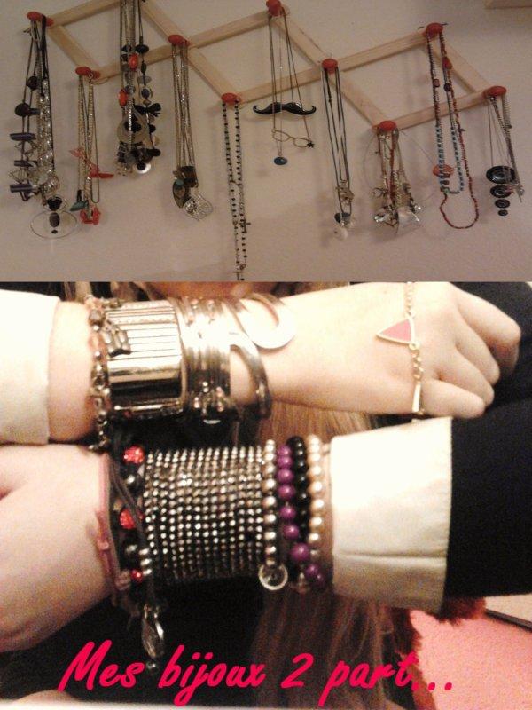 Mes bijoux 2eme part (bracelet, sautoir, collier) (mes créa)