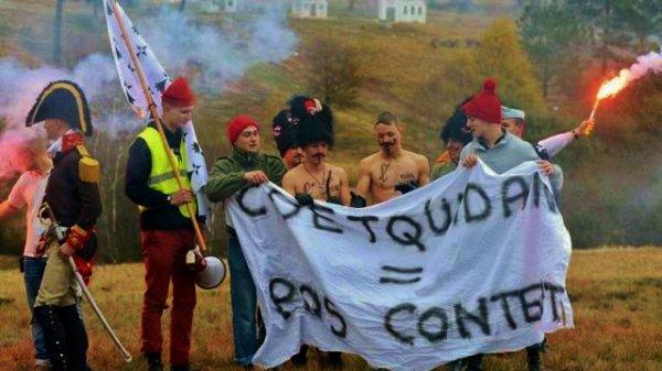 St CYR COËTQUIDAN ECOLE DES OFFICIERS DE L'ARMée de TERRE   *******       en BRETAGNE