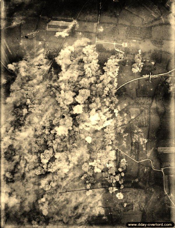 **30 Juin 1944** Bombardement  de Villers-Bocage+++