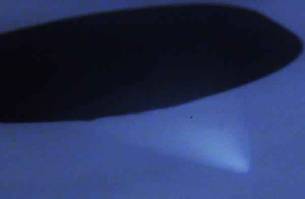 Passage d'un OVNI