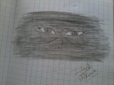 Je m'ennuyais en perm alors j'ai fait ce dessin.