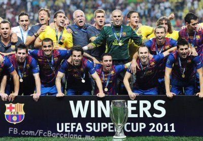 FC BARCELONA campeons de la super copa,vamooos!