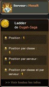 Résultats Sondage, YougahTaga 1ère Ladder And Co