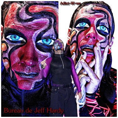 Bureau De Jeff Hardy On Adiict-W-we
