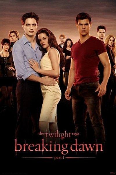 Affiche officielle de Breaking Dawn partie 1 ou juste un fan made hyper bien réussi ???