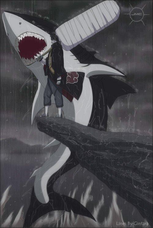 zabuza et kisamé les deux demon de kiri