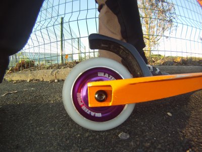 mes nouvelle roues metal core
