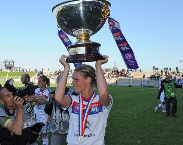Les joueuses de l'OL ont décroché la 4ème Coupe de France Féminine de leur histoire !