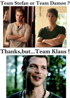 Thanks,  but ... Team Klaus !!