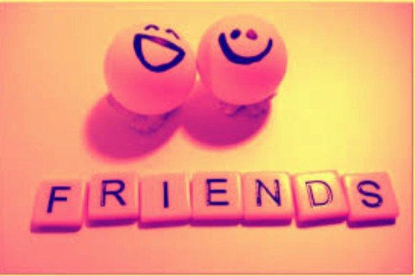 Ne laissez pas une petite dispute briser une grande amitié ... ce serai un enorme gâchis