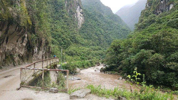 Jour 54: départ d'aguas calientes pour Cusco