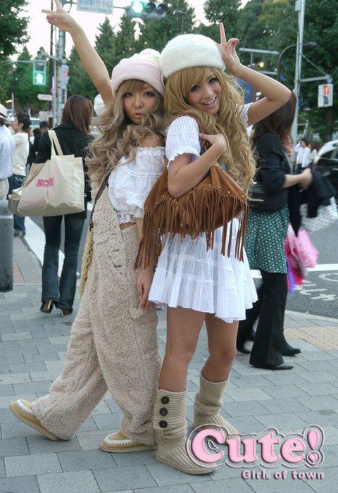 Mode Japonaise  Gyaru ou Gal ^^