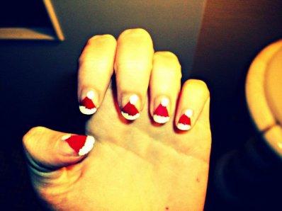 Les motifs de Noel...inspirés je l'avoue de Cute polish ;)