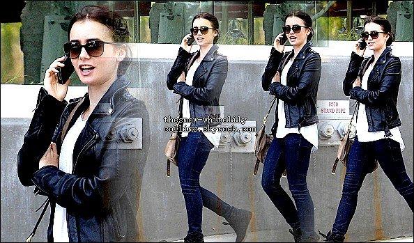 Le 31 mai Lily se promenait dans Beverly Hills.