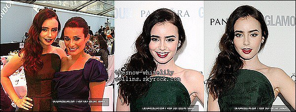Le 29 mai, Lily était au Glamour Women Of The Year Awards 2012