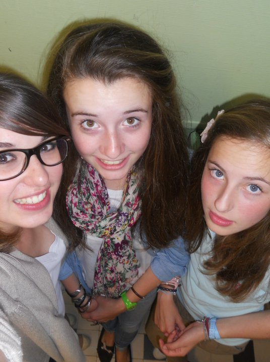 Thais, Marie-lou, Sophie. Mes amours.