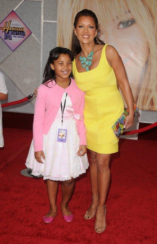 Vanessa et sa fille Sasha Gabriella à l avant premiere de HM