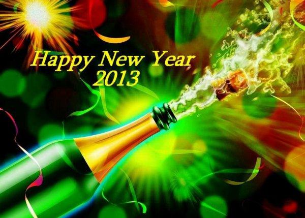 bonne année a tous bisous c@role