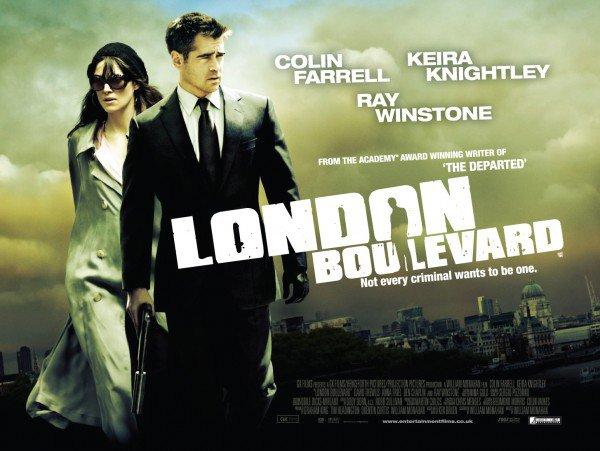 """L'affiche de """"London Boulevard"""""""