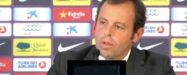 """Sandro Rosell: """"Il était difficile de dire« non »à Abidal"""""""