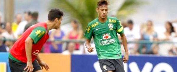 Le voyage de Neymar à la minute avec MD
