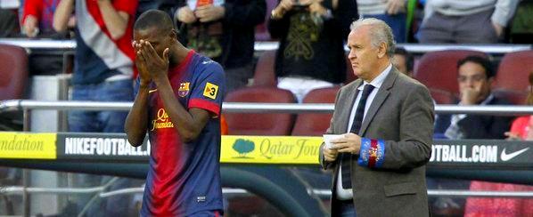 Les notes de Barca-Malaga: honneurs Abidal