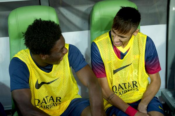 2-2: Neymar fait ses débuts pas de temps à améliorer Barca