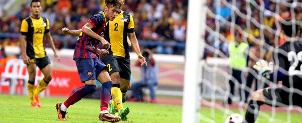 Malaisie - Barça (1-3): Le grand joueur est Neymar