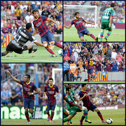 FC Barcelone 7-0 Levant