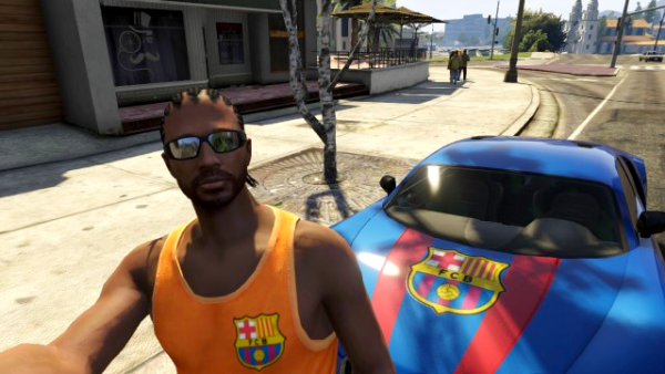 GTA V : Made FC Barcelona