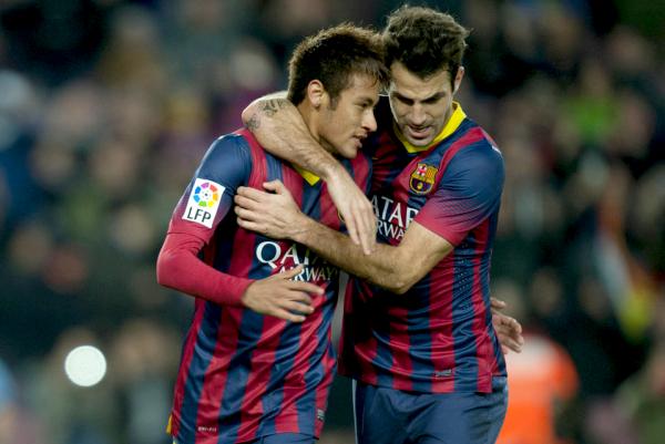 Un autre pas en avant Neymar